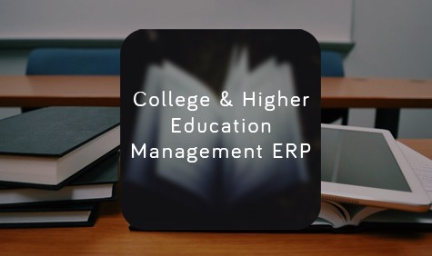 College and higher education management ERP