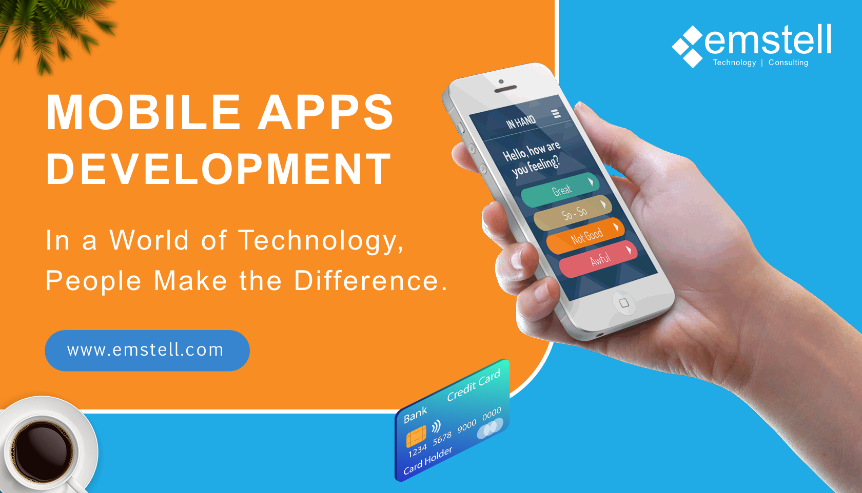 Mobile Applications for All with Emstell Technologies in the Fastest World