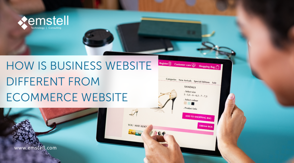 Business company website and Ecommerce